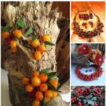 Ягодно-фруктовые украшения