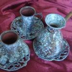Причудливые кофейные наборы из фарфора