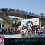 Первый Чемпионат Мира по Граффити 3D на Москве-реке!  «Next proekt»